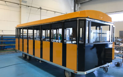 New glass train for IRELAND